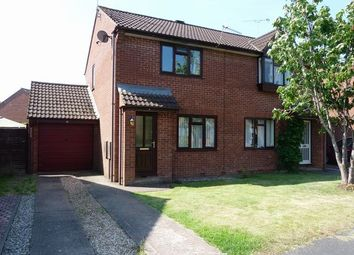 Thumbnail 2 bed semi-detached house to rent in Bluebell Avenue, Tiverton