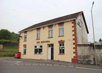 Thumbnail Pub/bar for sale in High Street, Porth
