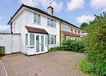 Thumbnail 3 bed semi-detached house for sale in Sussex Road, Maidstone, Kent