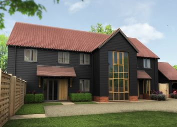 Thumbnail 3 bedroom semi-detached house for sale in The Lanes, Great Wilbraham, Cambridge