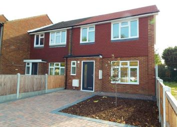Thumbnail 3 bed end terrace house for sale in Hainault, Ilford, Essex