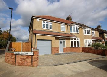 Thumbnail 4 bed property to rent in Hillside Crescent, Enfield