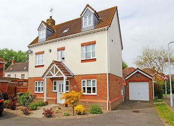 Thumbnail 4 bedroom town house for sale in Amber Rise, Sittingbourne, Kent