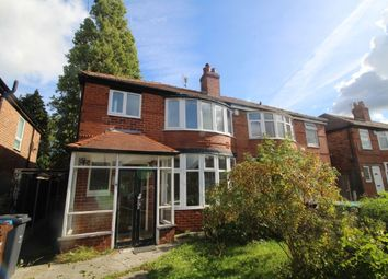 Thumbnail 4 bed terraced house to rent in Parrs Wood Road, Manchester