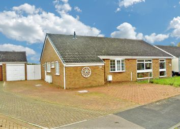 Thumbnail 2 bed semi-detached bungalow for sale in New Forest Close, Wigston