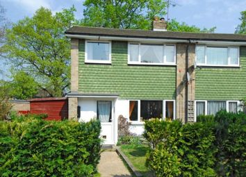 Thumbnail 3 bed end terrace house to rent in Hartley Close, Blackwater, Camberley