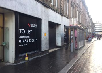 Thumbnail Retail premises for sale in 7-17 Union Street Ground Floor, Inverness