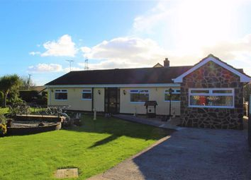 Thumbnail 3 bed detached bungalow for sale in Lower Lamphey Road, Merlins Cross, Pembroke