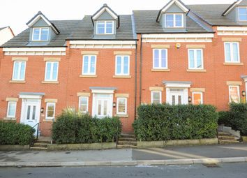 Thumbnail 3 bed town house for sale in Rugby Drive, Chesterfield