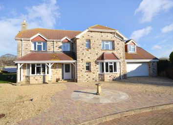 Thumbnail 4 bed detached house for sale in The Orchard, Brighstone, Newport