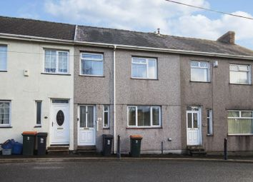 Thumbnail 3 bed terraced house for sale in St. Johns Crescent, Rogerstone, Newport