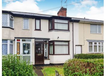 Thumbnail 3 bed terraced house for sale in Graham Road, Birmingham