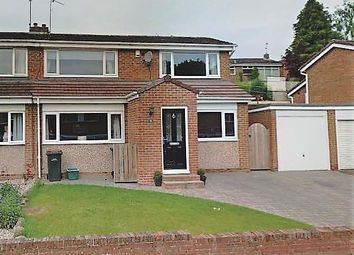 Thumbnail 3 bed semi-detached house for sale in Rochester Road, Newton Hall, Durham