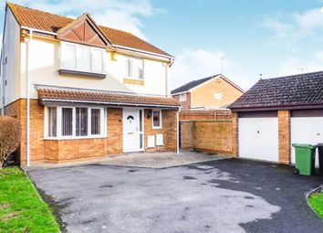 Thumbnail 4 bedroom detached house for sale in Delamere Drive, Stratton, Swindon