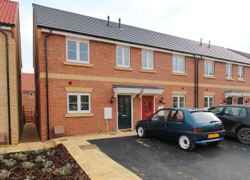 Thumbnail 3 bed terraced house to rent in Hetterley Drive, Barleythorpe, Oakham