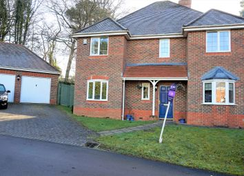 Thumbnail 4 bed detached house for sale in Burrow Hill Place, Bishopstoke, Eastleigh