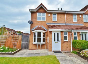 Thumbnail 2 bed semi-detached house for sale in Redmans Close, Eccles, Manchester