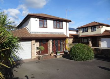 Thumbnail 4 bed detached house for sale in Woodham Park, Barry