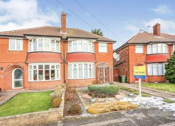 3 bed semi-detached house for sale in Oaklands Avenue, Loughborough, Leicestershire LE11