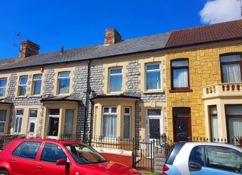 Thumbnail 3 bedroom terraced house to rent in Castleland Street, Barry