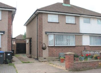 Thumbnail 3 bed semi-detached house for sale in Vian Avenue, Enfield