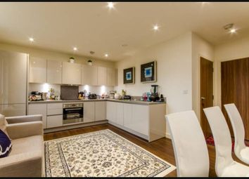 Thumbnail 3 bed flat to rent in Greenshank House, 19 Moorhen Drive, London, Greater London
