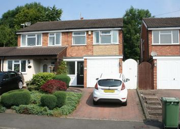 Thumbnail 2 bedroom semi-detached house for sale in Tiverton Close, Kingswinford