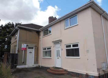 Thumbnail 2 bed semi-detached house for sale in North Square, Edlington, Doncaster