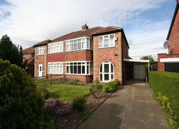 Thumbnail 3 bed semi-detached house for sale in Thornfield Road, Linthorpe, Middlesbrough