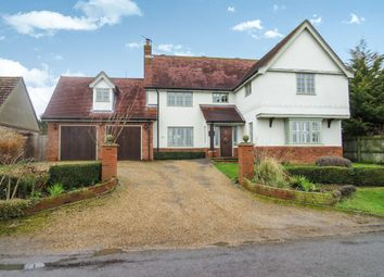 Thumbnail 5 bed detached house for sale in Brettenham Road, Buxhall, Stowmarket