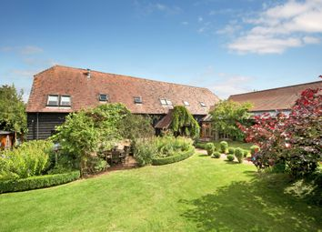 Thumbnail 5 bed barn conversion for sale in Eastbury, Hungerford