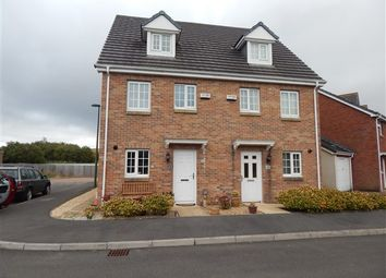 Thumbnail 3 bedroom semi-detached house for sale in Milfraen View, Brynmawr, Ebbw Vale