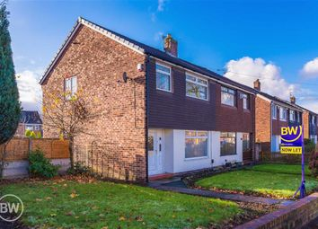 Thumbnail 3 bed semi-detached house to rent in Holden Road, Leigh, Lancashire