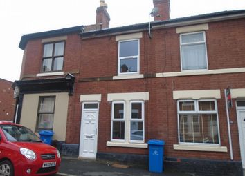 Thumbnail 2 bed terraced house to rent in 2 Bedroom Terraced House, Howe Street, Derby Centre