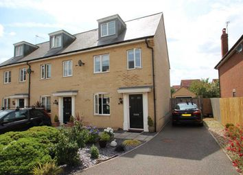 Thumbnail 3 bed town house for sale in The Combers, Grange Farm, Kesgrave, Ipswich