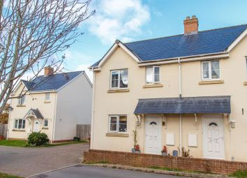 Thumbnail 2 bed semi-detached house for sale in Chapel Close, Yeoford, Crediton