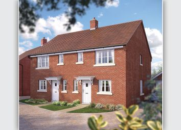 "Thumbnail 3 bed semi-detached house for sale in ""The Southwold"" at Needlepin Way, Buckingham"