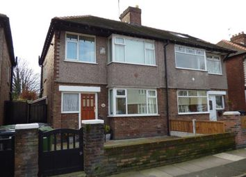 Thumbnail 3 bed semi-detached house for sale in Brooklands Avenue, Liverpool, Merseyside