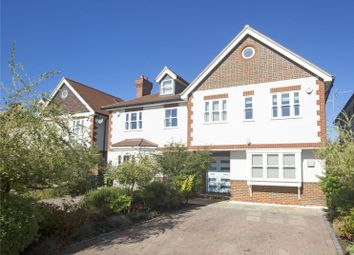 Thumbnail 4 bedroom semi-detached house for sale in Avondale Avenue, Esher, Surrey