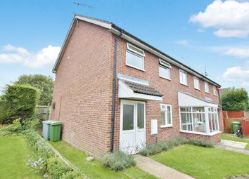Thumbnail 3 bed semi-detached house for sale in Nelson Way, Hevingham, Norwich