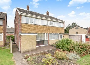 Thumbnail 3 bed semi-detached house for sale in Green Close, Meanwood, Leeds