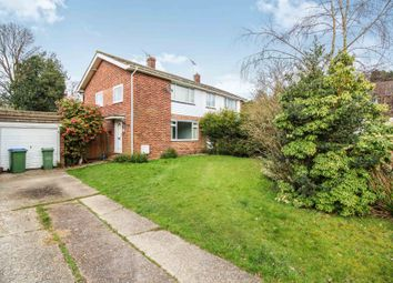 Thumbnail 3 bed semi-detached house for sale in North Holmes Close, Horsham
