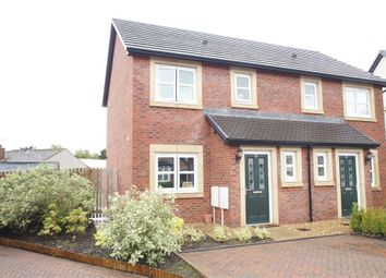 Thumbnail 3 bed semi-detached house for sale in Bishops Way, Dalston, Carlisle, Cumbria