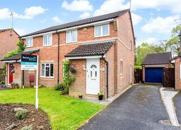 Thumbnail 3 bed semi-detached house for sale in Salterns Road, Maidenbower, Crawley