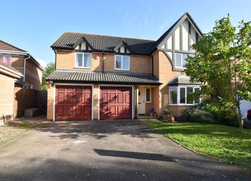 Thumbnail 5 bed detached house for sale in Charles Dickens Close, Droitwich