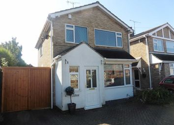 Thumbnail 3 bed detached house to rent in Wavertree Close, Cosby, Leicester