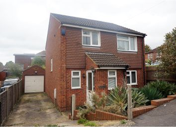 Thumbnail 3 bed detached house for sale in Hilltop Drive, Sholing, Southampton