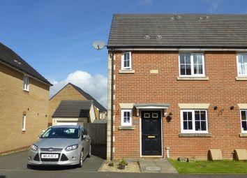 Thumbnail 3 bed semi-detached house for sale in Ffordd Y Glowyr, Betws, Ammanford, Carmarthenshire.
