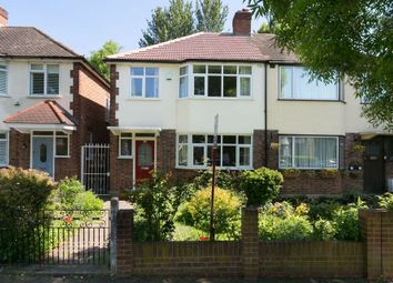 Thumbnail 3 bed semi-detached house for sale in Waterhall Avenue, London