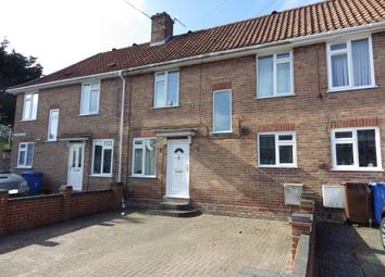 Thumbnail 3 bed terraced house for sale in Horning Close, Norwich